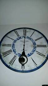 French style large kitchen clock
