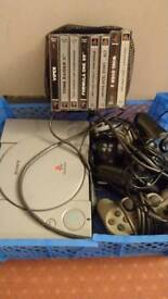 PS1 + games and stuff