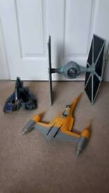 Star Wars Tie/Naboo & Droid Fighter Ships