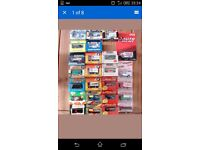 26 Matchbox cars, boxed,mint,dated from 80's