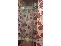 5ft high all glass display cabinet, suitable for displaying collectables/models/ornaments