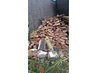 200 LBC bricks Free for collection in Hainault
