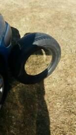 Mirror in tyre