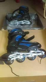Semi soft inline skate size 6