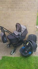 Silvercross Wayfarer Limited Edition, Pram, Pushchair, Car Seat, Travel System