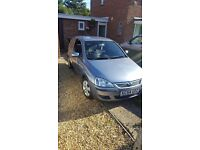 vauxhall corsa for sale very tidy in and out, mot till july 2017
