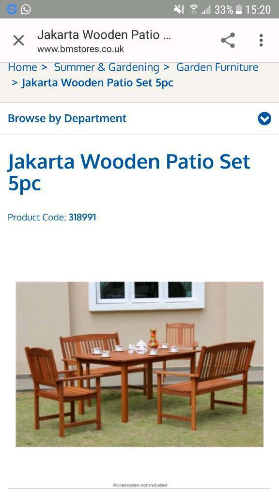 Garden Furniture Jakarta garden furniture | in ripley, derbyshire | gumtree
