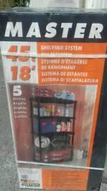 Garage or shed shelf unit