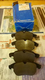 Front brake pads for Vectra c