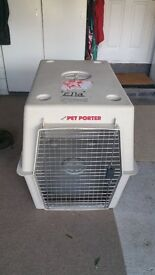 Pet Porter extra large dog create suitable for shipping pet by air or use as a create at home