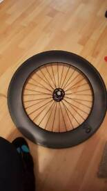 Front carbon notorious 90 blb track wheel
