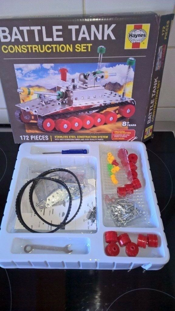 Haynes Construction kit - Battle Tank