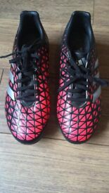 Rugby boots size 6 Adidas