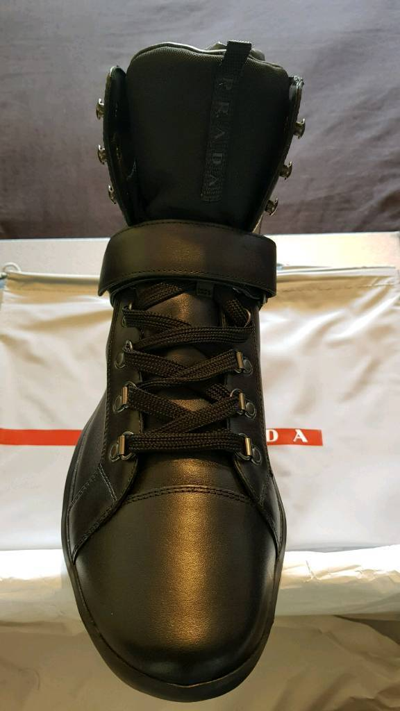 Brand new Prada high top trainers in size 11