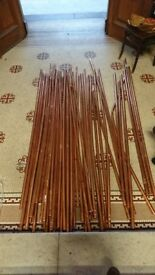 28mm Copper Pipes Never Used £4 per metre