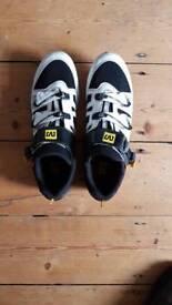 Mavic carbon composite road shoes size 44