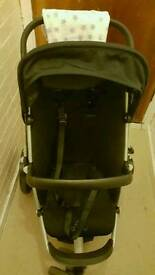 Quinny Buzz with Maxi cosi car seat & Buggy Board