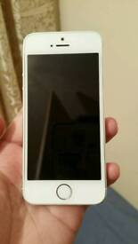 IPhone 5s 16gb Silver Color Unlocked Excellent Condition