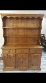 Solid Pine Wood Welsh Dresser