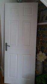 interior white doors