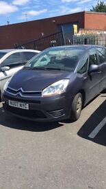 Citroen Picasso 7 seater 2007 in blue SPARES OR REPAIRS