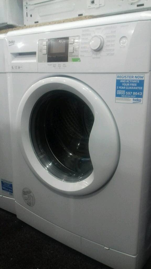 Wash machines beko 9kg new never used offer sale £166