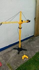 Kids remote control crane toy
