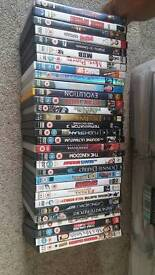 32 Dvds £1 each or all for £25