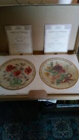 Collectors display plates The country diary of an Edwardian lady