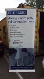 Expand Media Screen 3 Retractable Display, Roll-up Banner