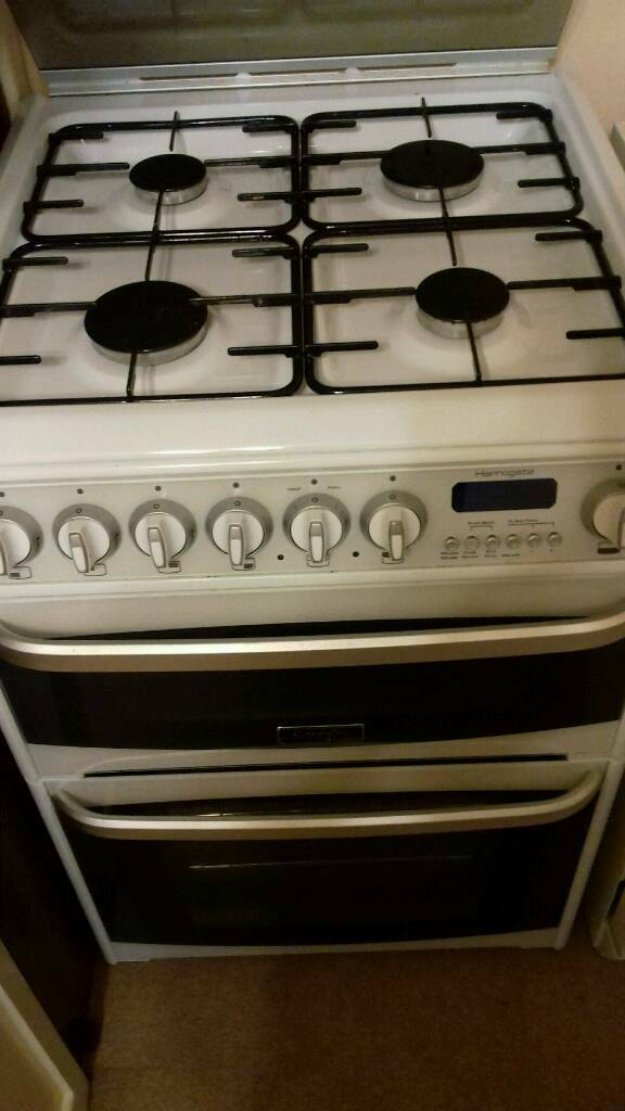 Cannon Hotpoint dual fuel cooker