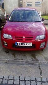 RED MG ZR 2005