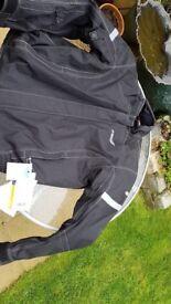 Spada motorbike jacket and trousers water proof