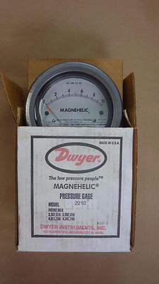 Dwyer 2210 Magnehelic Pressure Gage