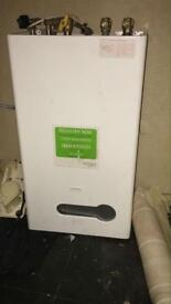 Boiler for sale as new complete with guarantee