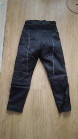 Motorbike trousers/pants - size 10 - women`s - used