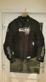 furygan textile motorcycle jacket