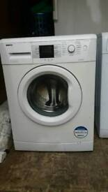 BEKO WHITE 8KG WASHING MACHINE 3 MONTHS GUARANTEE