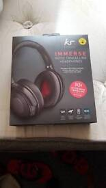 Immerse headphones noise cancelling