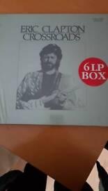 Eric clapton 'Crossroads ' 6 LP BOX SET