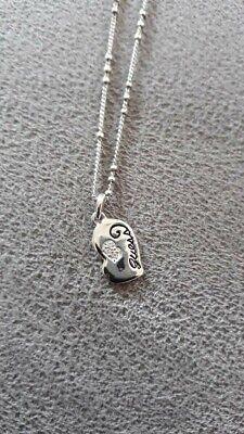 Schöne Damen Halskette Von GUESS 925 er Sterlingsilber zu verkaufen ❤ Halskette Von Guess
