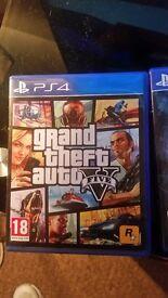 GTA V PS4 PERFECT CONDITION