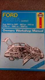 Haynes Manual, Ford First 83-87