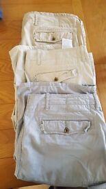 Levi Cargo shorts 3 pairs