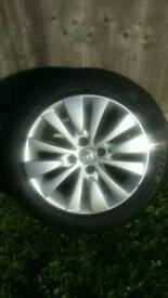 Grand Picasso Alloy Wheel Tyre and Cover