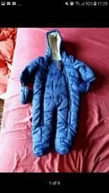 Brand new waterproof baby winter suit from 3-6 months + a free musical activity toy