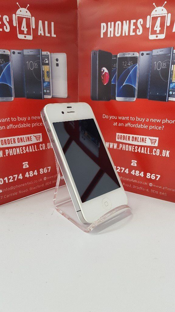 iPhone 4 White Unlocked 8GBin Bradford, West YorkshireGumtree - iPhone 4 White Unlocked 8GB unlocked on all networks in good condition. Many More Phones In Stock, Look At Our Other Listings Open to swaps at trade price 01274 484867 07546236295