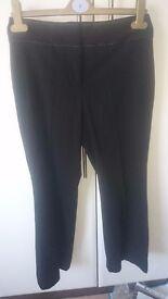 Black suit trousers SIZE 6 - excellent condition