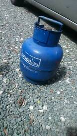 Calor gas bottle with some gas
