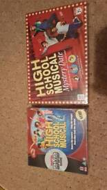 High school musical board games